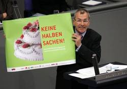 Volker Beck in the german Bundestag